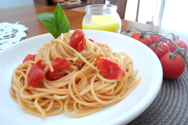 Cherry Tomatoes Spaghetti