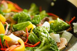 Vegetables stir-fry