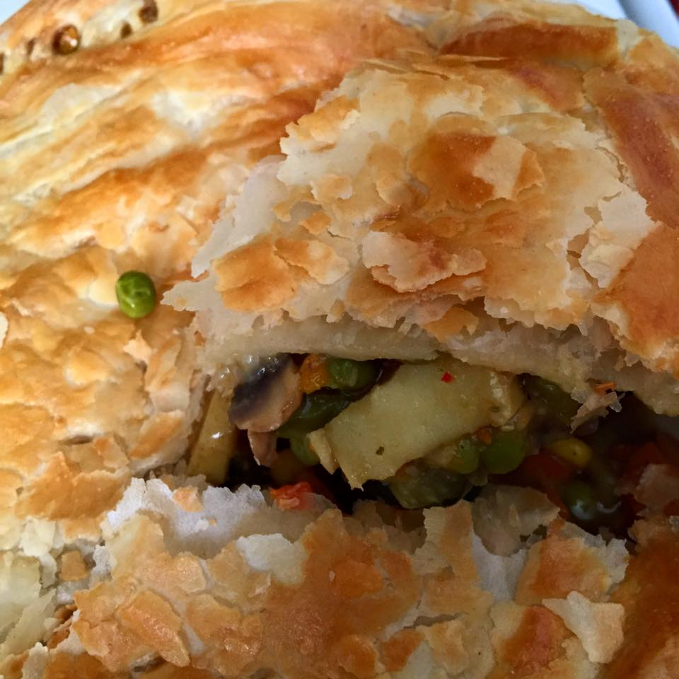 Being VeganVegetarian Vegetable Pot Pie